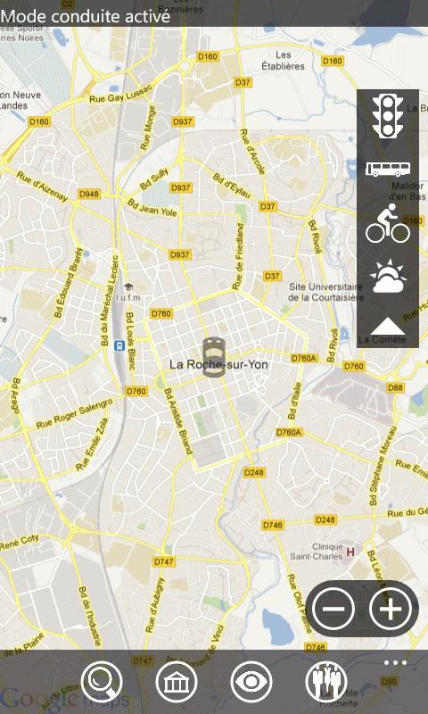 Smartphone France Windows Edition : Offrez Google Maps à votre