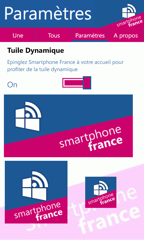Smartphone France Windows Edition : Participez à Smartphone France grâce à son application mobile