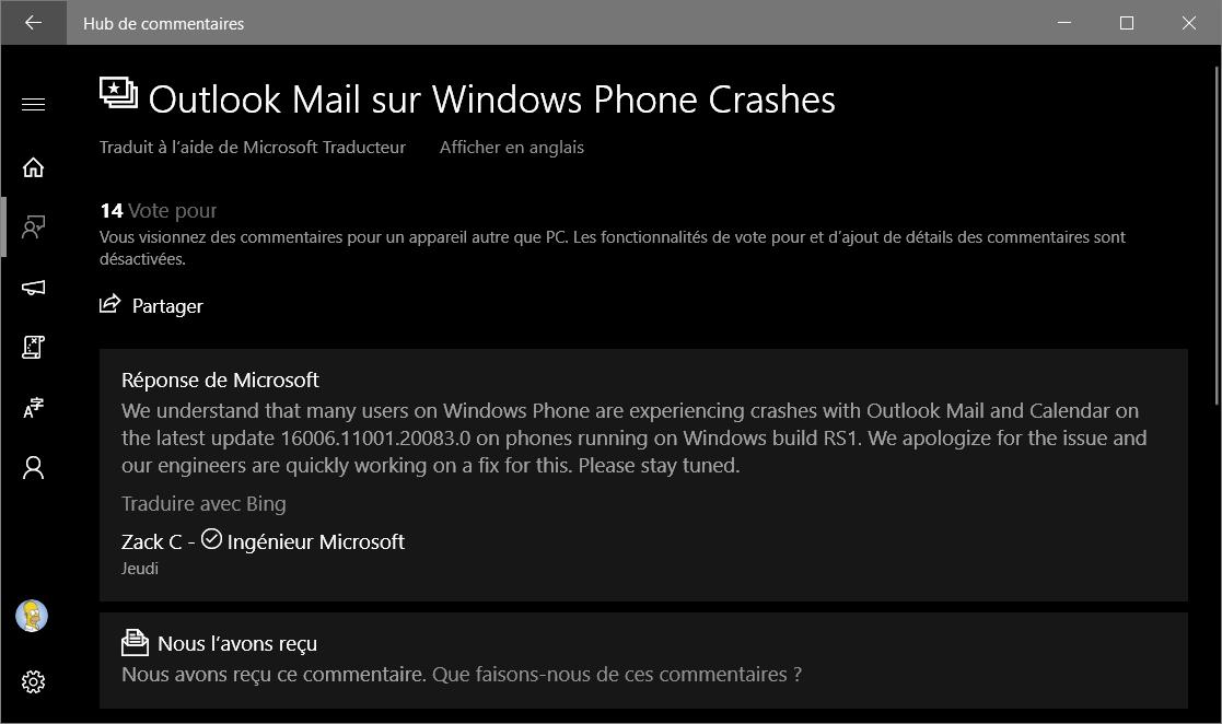 Courrier Et Calendrier.Smartphone France Windows Edition Y A T Il Encore Un