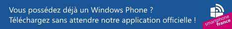 Application Smartphone France pour Windows